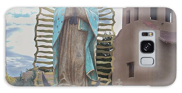Our Lady Of Guadalupe Galaxy Case by Sylvia Thornton