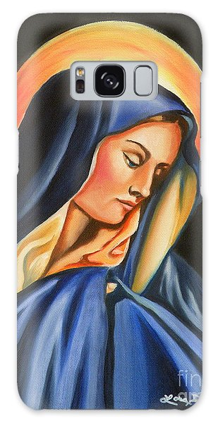 Our Lady Of Sorrows Galaxy Case