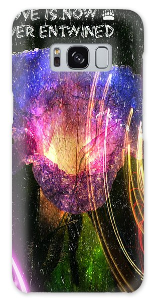 Our Love Is Now Forever Entwined Galaxy Case by Absinthe Art By Michelle LeAnn Scott