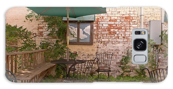Outdoor Cafe Dining Galaxy Case