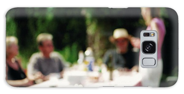 Picnic Table Galaxy Case - Outdoor Eating by Martin Riedl/science Photo Library