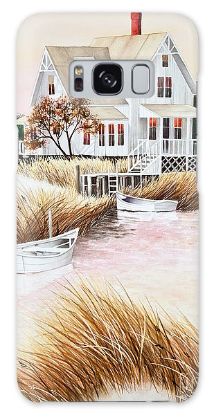 Outer Banks Summer Morning Galaxy Case by Michelle Wiarda