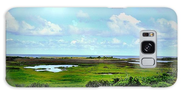Outer Banks Tranquility Galaxy Case
