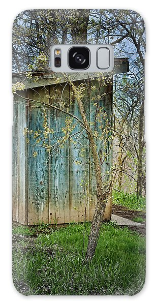 Outhouse In Spring Galaxy Case by Nikolyn McDonald