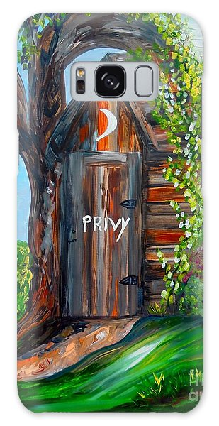 Outhouse - Privy - The Old Out House Galaxy Case