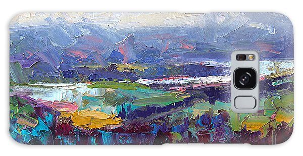 Overlook Abstract Landscape Galaxy Case