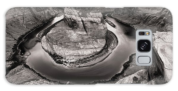 Galaxy Case featuring the photograph Overcast At Horseshoe Bend by Brad Brizek