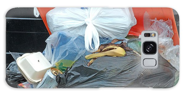 Rubbish Bin Galaxy Case - Overflowing Rubbish Bin by Alex Bartel