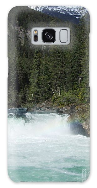Overlander Falls - Fraser River Galaxy Case by Phil Banks
