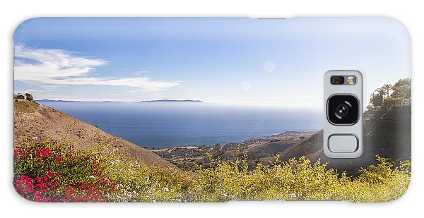 Overlooking Palos Verdes Estates Galaxy Case