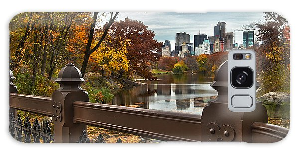 Overlooking The Lake Central Park New York City Galaxy Case
