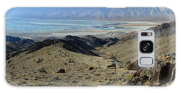 Owens Lake And Sierra Nevada Panorama November 17 2014 Galaxy Case