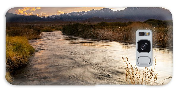 Owens River Sunset Galaxy Case by Joe Doherty