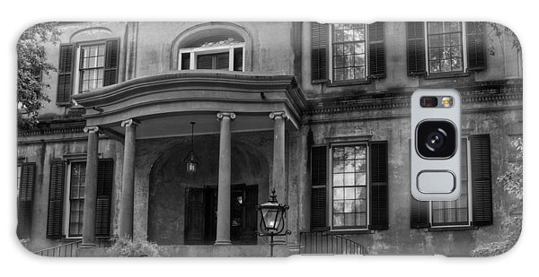 Owens - Thomas House In Black And White Galaxy Case