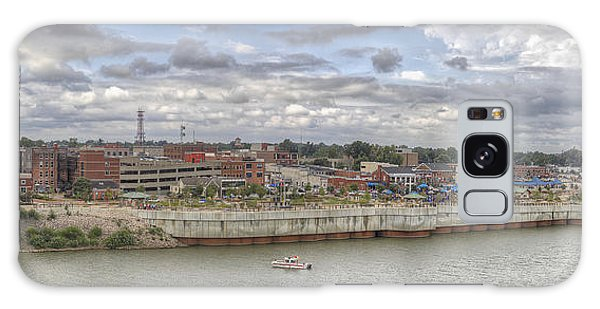 Owensboro Ky Riverfront Galaxy Case by Wendell Thompson