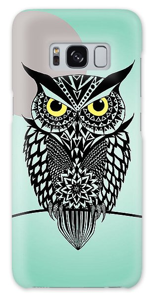 Owl Galaxy Case - Owl 5 by Mark Ashkenazi