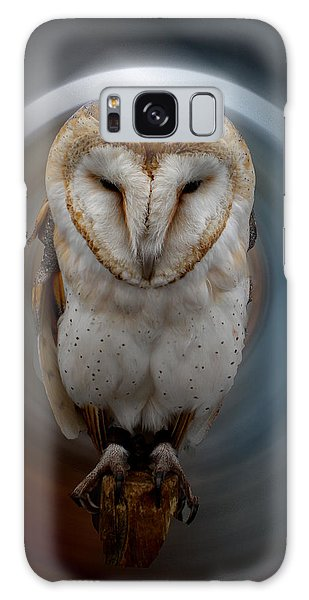 Owl Alba  Spain  Galaxy Case by Colette V Hera  Guggenheim