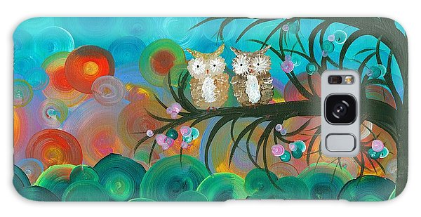 Owl Couples - 02 Galaxy Case
