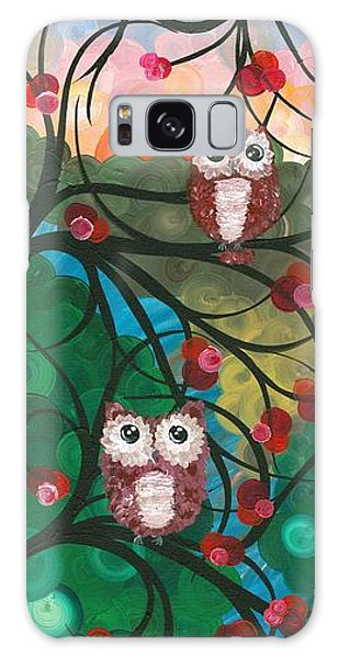 Owl Couples - 03 Galaxy Case