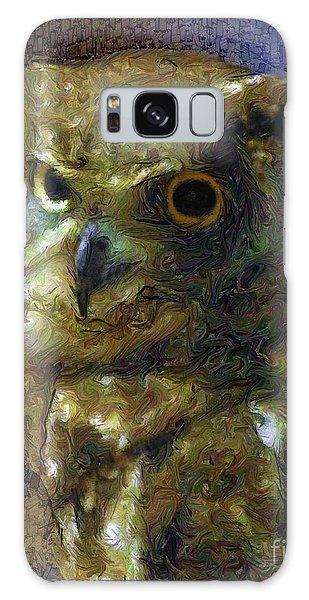 Owl Galaxy Case by Dee Flouton