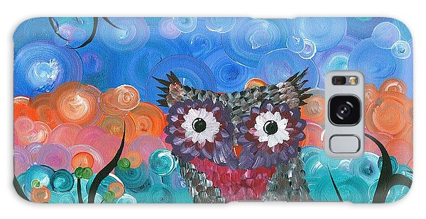 Owl Expressions - 02 Galaxy Case