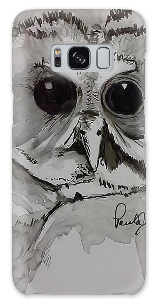 Owl Eyes Two Galaxy Case