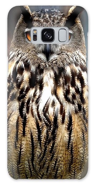 Owl Living In The Spanish Mountains Galaxy Case