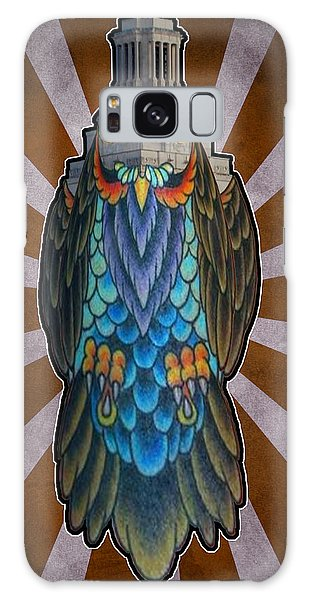 Owl Of The Tower Galaxy Case