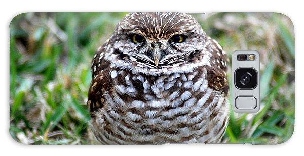 Owl. Best Photo Galaxy Case by Oksana Semenchenko