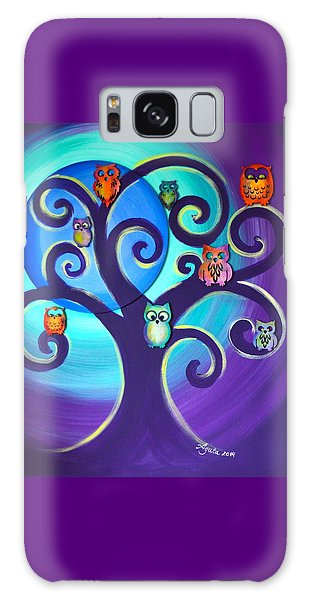 Owl Sweet Family Galaxy Case