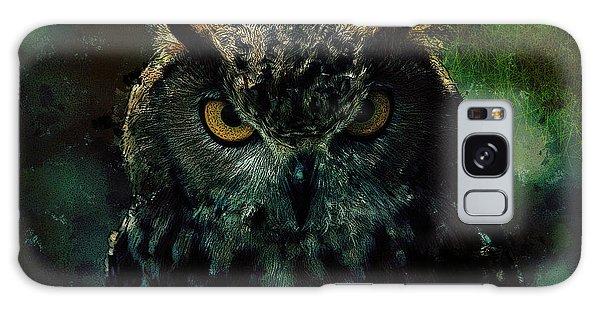 Owlish Tendencies Galaxy Case