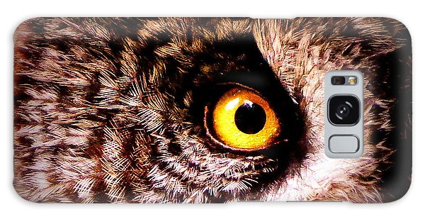 Owl's Eye Galaxy Case