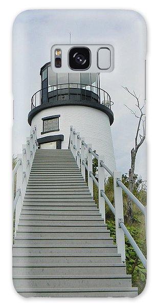 Owls Head Lighthouse Galaxy Case