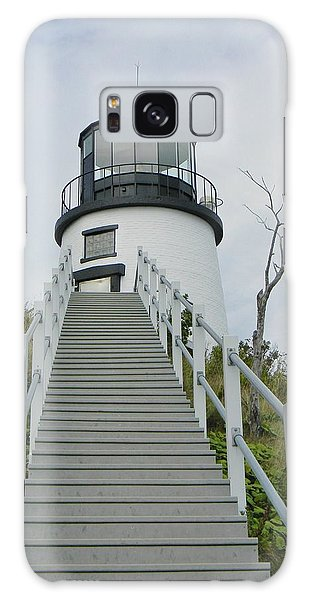 Owls Head Lighthouse Galaxy Case
