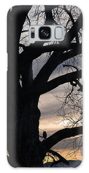 Owls Roost Galaxy Case