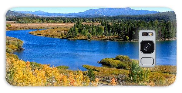 Oxbow Bend, Grand Teton National Park Galaxy Case