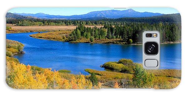 Oxbow Bend Grand Teton National Park Galaxy Case