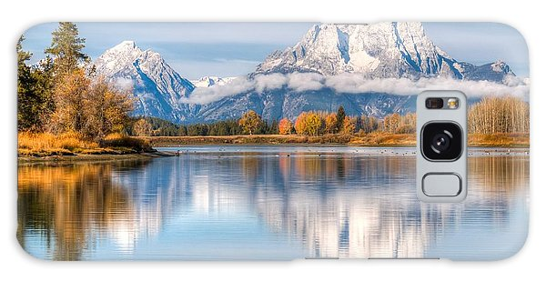Sly Galaxy Case - Oxbow Bend Reflections 0076 by Kristina Rinell