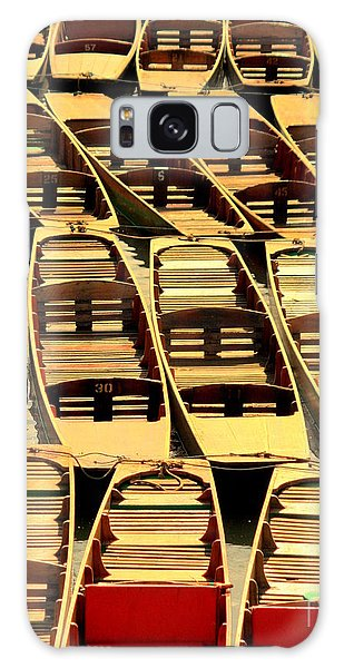 Oxford Punts Galaxy Case by Linsey Williams