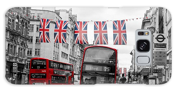 Oxford Street Flags Galaxy Case