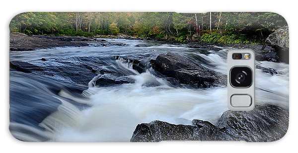 Oxtongue River Rapids Panoramic Galaxy Case