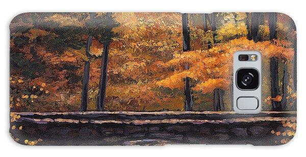 Foliage Galaxy Case - Ozark Stream by Johnathan Harris