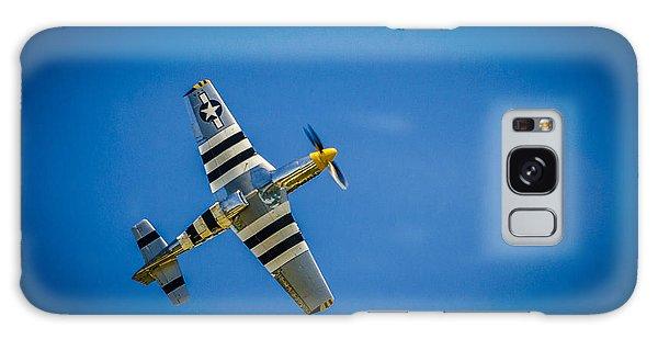 P-51 Invasion Stripes Galaxy Case