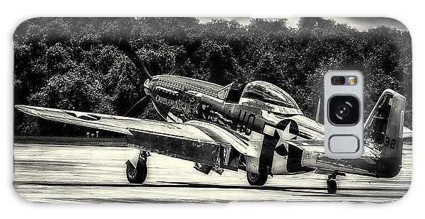 P-51 Mustang In Hdr Galaxy Case