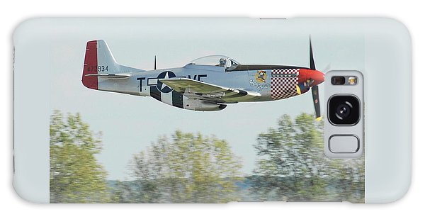 P-51d Mustang Shangrila Galaxy Case by Alan Toepfer