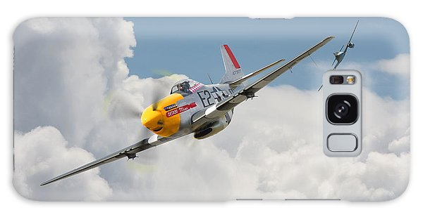 P51 Mustang And Me 262 Galaxy Case