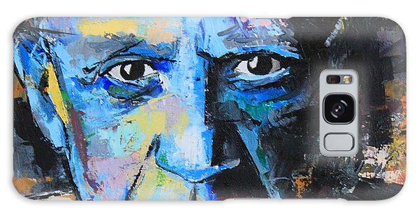 Pablo Picasso Galaxy Case by Richard Day