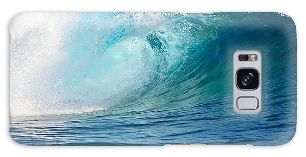 Pacific Big Wave Crashing Galaxy Case by IPics Photography