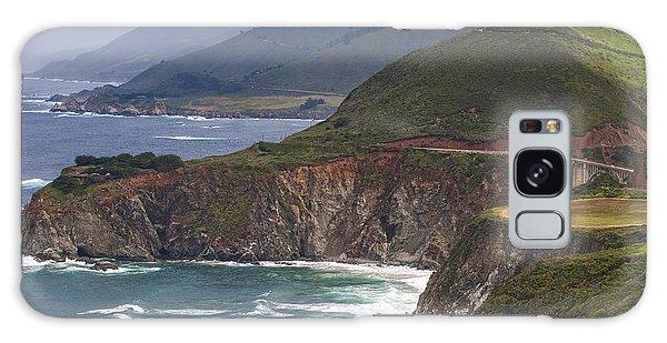 Pacific Coast View Galaxy Case