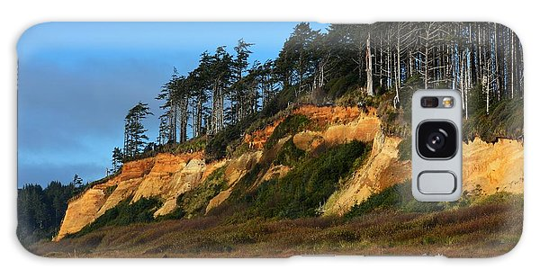 Pacific Coastline Galaxy Case by Gayle Swigart